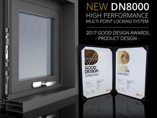 Doric Wins Design Award For DN8000 Self Latching Multi-Point System